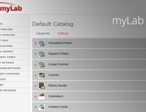 myLab Change Log